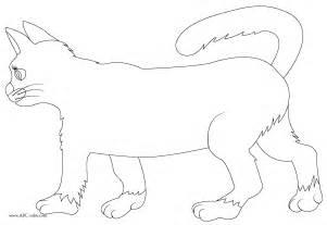Download Bitmap Coloring Cat sketch template