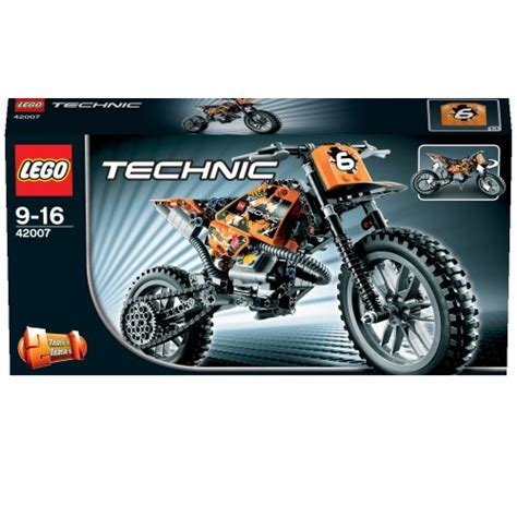 import motocross bikes lego technic 42007 moto cross bike import it all