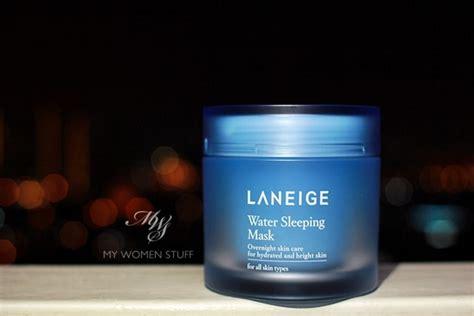 Review: Laneige Water Sleeping Mask Laneige Water Mask