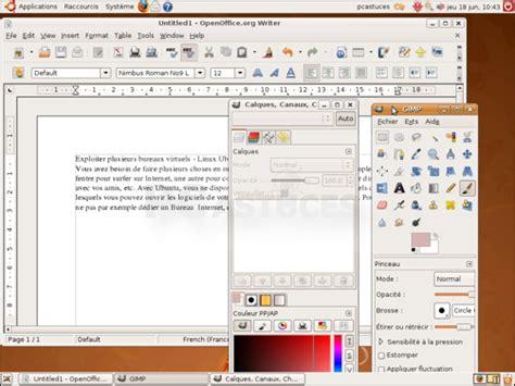 ubuntu raccourci bureau exploiter plusieurs bureaux virtuels linux ubuntu le