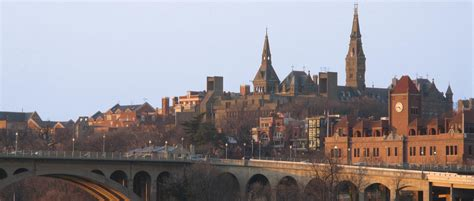 Georgetown Mba Ranking by Graduate School Of Arts Sciences Georgetown