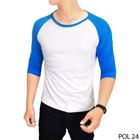 Kaos Tshirt Unisex Lengan Pendek All Size buy basic raglan tshirt unisex deals for only rp85 000