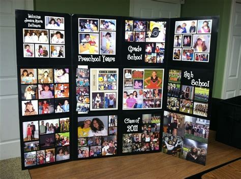 themes for senior presentation graduation display sle graduation pinterest