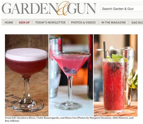 Garden And Gun Magazine Recipes Cathead Vodka In Garden Gun Hook