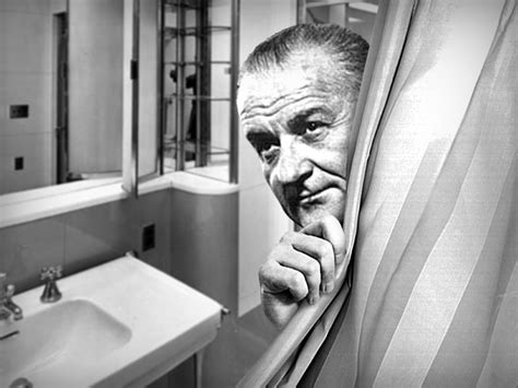 lbj s white house shower had nozzles aimed at his privates