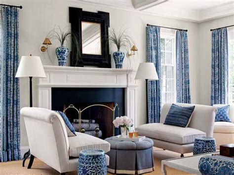 Black And Blue Living Room Ideas by Blue And White Living Room Decorating Ideas For Exemplary