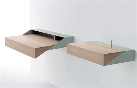 Compact Desk Ideas by Small Floating Shelves That Looks Modern And Have Good