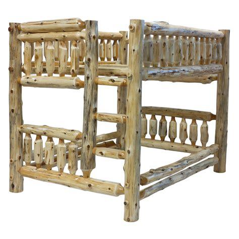 Log Bunk Bed Furniture Gt Bedroom Furniture Gt Bunk Bed Gt Log Bunk Bed