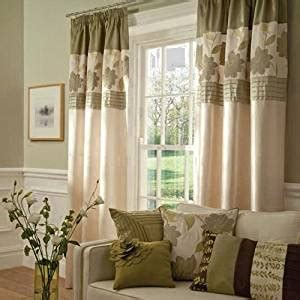 wine curtains 90x90 com cream floral green modern fully lined faux