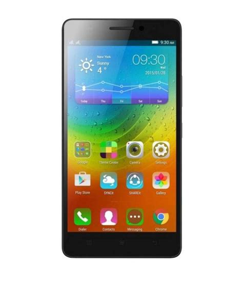 Lenovo A7000 16gb lenovo a7000 turbo 16gb black mobile phones at low prices snapdeal india