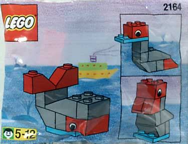 Set 1987 3in1 17 walvis polybag lego 2164 lego creator lego