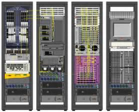 5 best images of racks of equipment visio diagrams