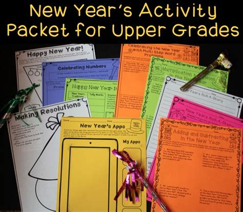 new year literacy activities top 13 ideas about new year activities on