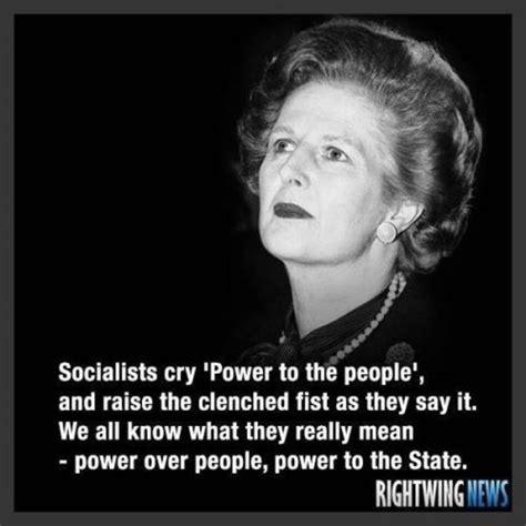 Margaret Thatcher Memes - margaret thatcher destroys socialism in two sentences