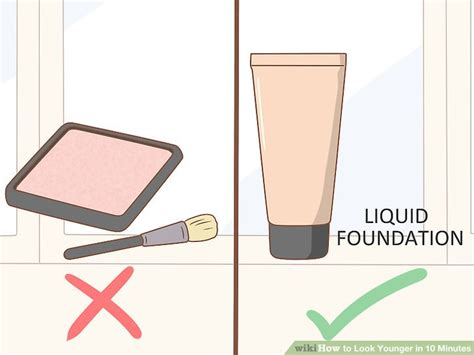 Your Look Younger In 20 Minutes 2 by 4 Ways To Look Younger In 10 Minutes Wikihow