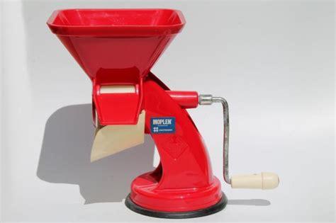 Juicer 5 In 1 retro plastic crank tomato sauce squeezo strainer
