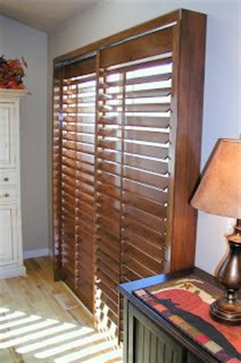 diy sliding door plantation shutters decorating