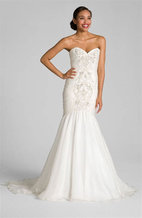 strapless sweetheart wedding dress bitsy bride