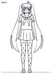 coloring book drawings learn how to draw osana najimi from yandere simulator