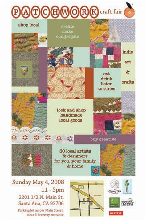Patchwork Fair - patchwork show craft fair posters dear handmade