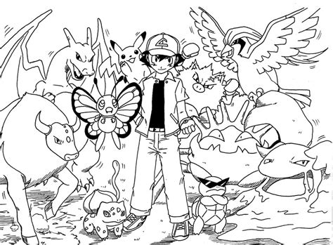 pokemon kanto coloring pages ashs greninja coloring page free printable pages sketch