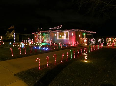 candy cane christmas lights christmas decorations candy cane lights racine wisconsin