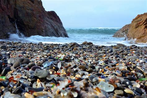 beach of glass glass beach mackerricher park fort bragg california 1