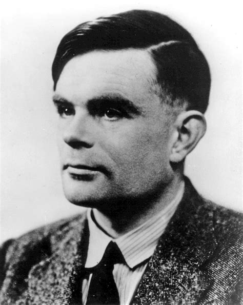 alan turing modern with professor blanchard letter dates in
