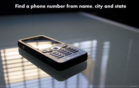 Phone Number Lookup By Name And City How To Find A Phone Number From Name City And State