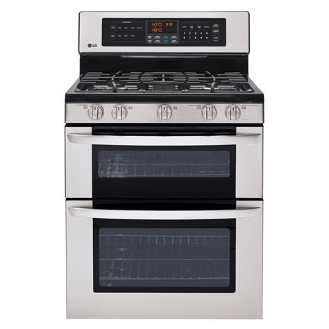 Oven Gas lg ldg3037st 6 1 cu ft oven gas range w easyclean w infrared grill stainless
