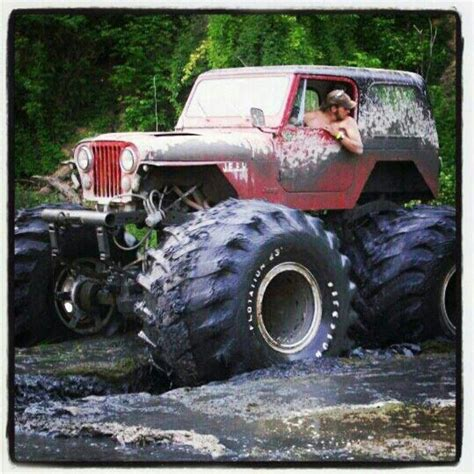 monster jeep cj monster mud real jeeps cj s other makes too pinterest