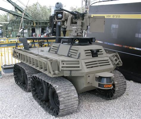 Kr01030 Unmanned Ground Vehicle Ugv Robot Car Chassis avantguard g nius ugcv unmanned ground combat vehicle technical data sheet information