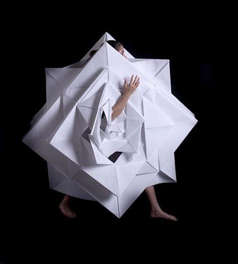 Origami Garments - origami fashion make