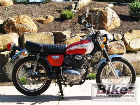 1973 honda cl350 specifications and pictures