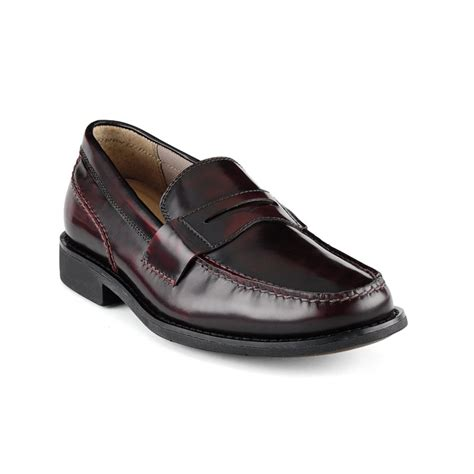 burgundy loafers for sperry top sider liberty loafers in black for