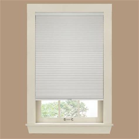 L Shades Sizes by Bali Cut To Size White Dove 9 16 In Cordless Blackout Cellular Shade 35 In W X 48 In L