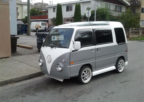 volkswagen japan cohort sighting vw bus mini me