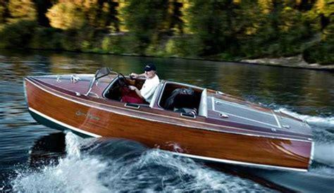wooden boat indiana jones edison electric speedboats