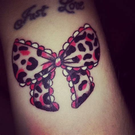 leopard print bow tattoo designs 63 beautiful bow tattoos and meanings