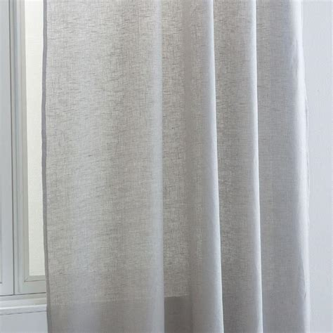 light gray curtain panels zara home light gray linen curtain panel