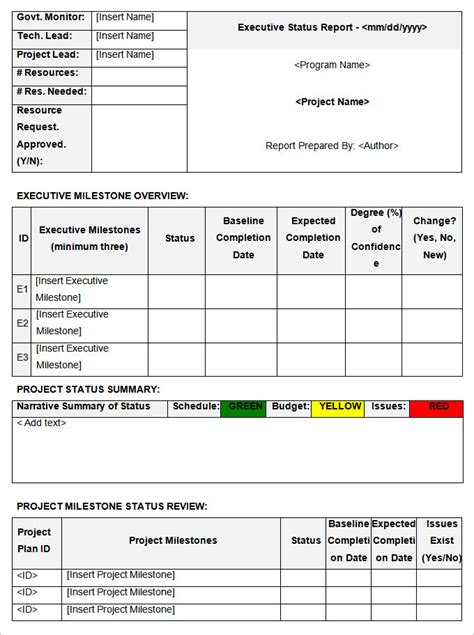 project status report template word 2010 status report templates 12 free word documents free premium templates