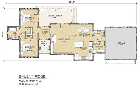 timber floor plans balsam ridge timber frame floor plan by mill creek