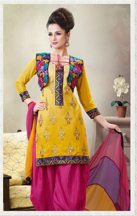 jacket design for punjabi suit 7 different punjabi salwar suit dresses with jacket for
