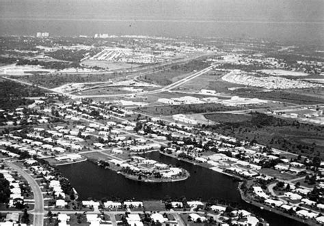 Section 8 Broward County Fl by Florida Memory Aerial View Overlooking A Section Of Fort