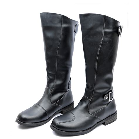 popular mens knee high boots buy cheap mens knee high