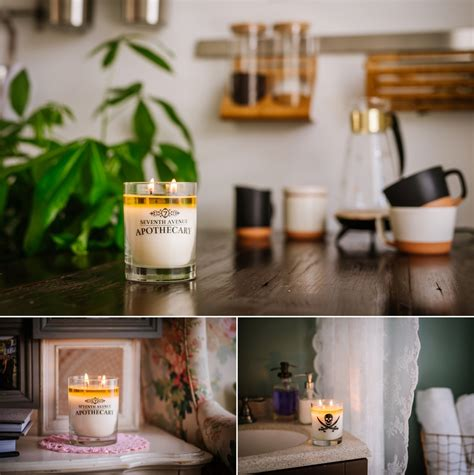 Handmade Candles Ireland - seventh avenue apothecary product photography ta fl