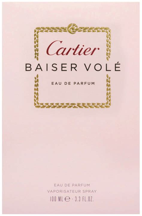 Parfum Cartier Baiser Vole cartier baiser vole perfume 30 50 100ml edp f 252 r frauen