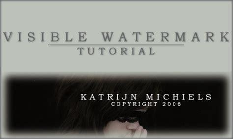 tutorial watermark visible watermark tutorial by photography reviewed on
