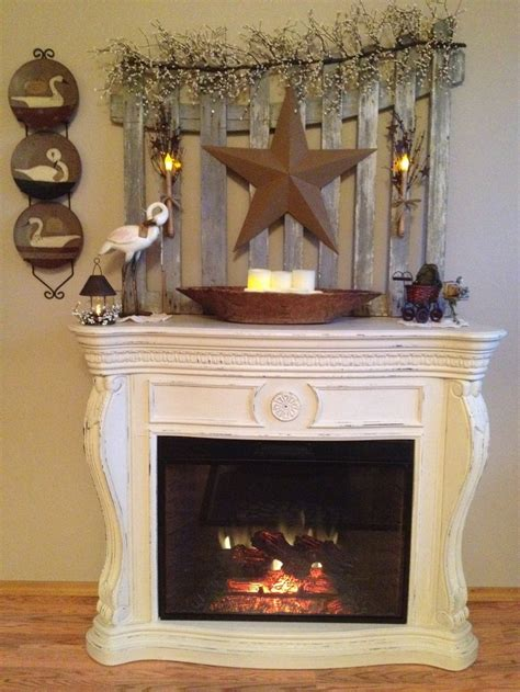 Fireplace Costco by Costco Fireplace Painted To Look Vintage On The