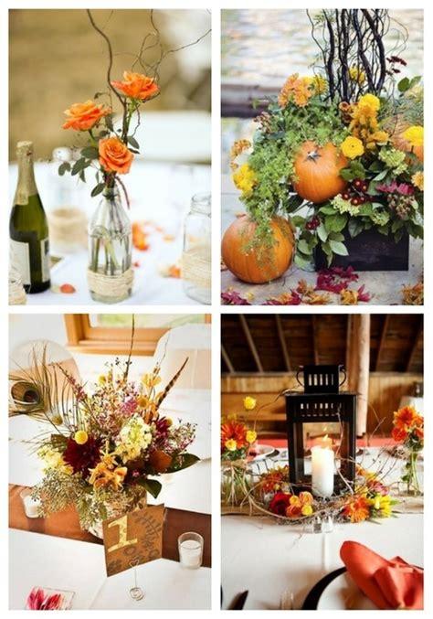 45 fall wedding centerpieces that inspire happywedd